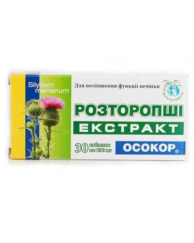 """Экстракт Расторопши """"Осокор"""" N30"""